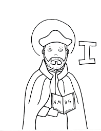 i is for st ignatius loyola