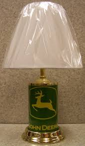lionheart designs international john deere gold deer table lamp