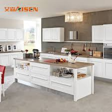 solid wood kitchen cabinets wholesale uv painted white shaker solid wood kitchen cabinet 1 set sets