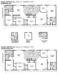 double wide mobile home floor plans custom home design