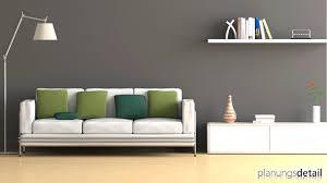 Wohnzimmer Grau Wandfarbe Grautöne