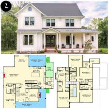 how much to build your house time small modern farmhouse floor