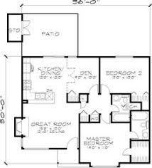 Open Plan House Plans First Floor Plan Of Country House Plan 73887 Cabin Idea For The
