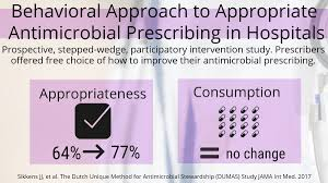 100 antimicrobial stewardship and appropriate antimicrobial