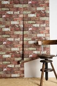 urban outfitters graham u0026 brown red brick wallpaper 60 00 32 feet