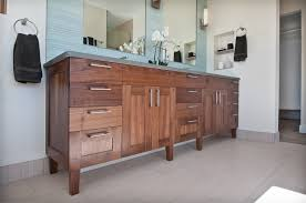 hand made bathroom vanity by marc hunter woodworking design