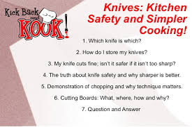 safety kitchen knives knife skills kitchen safety and simpler cooking