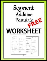 pre worksheets angle addition postulate worksheets pdf