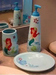 disney ariel bathroom set then there u0027s an ariel bath accessories