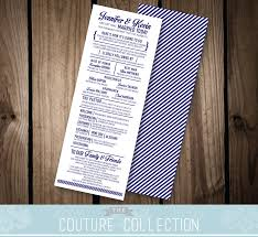 customizable wedding programs here s how it s going to go wedding program card