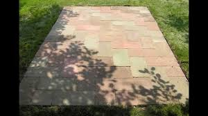 Average Cost Of Paver Patio by Bristol Patio Paving Estimate Youtube