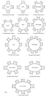 8 person round table size 8 person round table measurements how big is an 8 dining table size