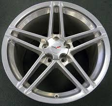 corvette zo6 rims oem c6 z06 speedline factory wheels polished