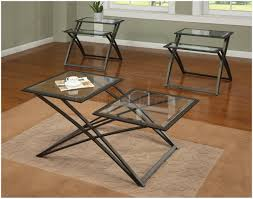 metal coffee table with glass top u2013 safeti me