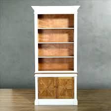 bookcase white wood high quality luxury fashion solid wood