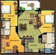 2 Bedroom Suites In Las Vegas by 2 Bedroom Suite At Tahiti Village In Las Vegas Nevada