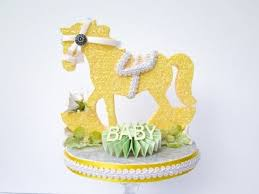 how to decorate a cake for baby showers