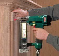 kitchen gun how to build u0026 install your own kitchen cabinets nail gun network