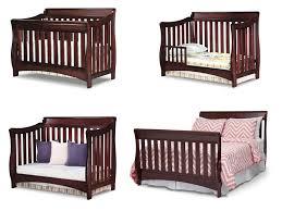Sleigh Crib Convertible Sleigh Crib Traditional Timeless Classic Nursery Furniture