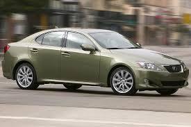 fuel consumption lexus is250 2007 lexus is 250 overview cars com