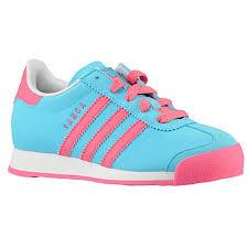 kids samba adidas kids originals samoa casual shoes samba blue 24 48