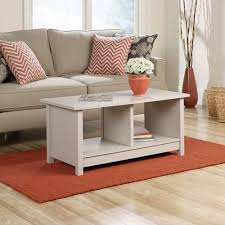 sauder coffee and end tables original cottage coffee table finish cobblestone walmart com