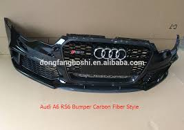 audi kits a6 kits for audi a6 rs6 with bumper grill diffuser in carbon