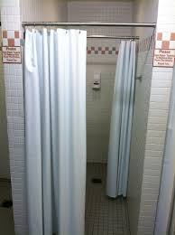 easy diy shower stall curtain rod installations the decoras