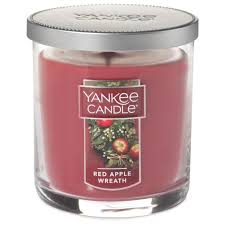 apple wreath small tumbler candle by yankee candle candles