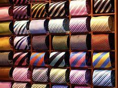 Ideas For Wall Mounted Tie Rack Design Roll Them Fold Them Knot Them How Do You Store Your Neckties