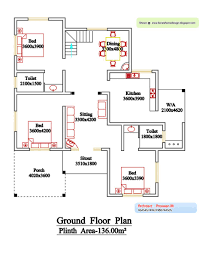 2 bedroom house floor plans free house plan best two bedroom plans india kerala free inspiration