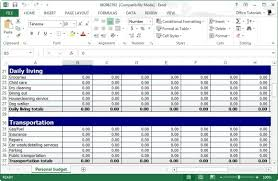 Free Excel Spreadsheets For Small Business Free Personal Budget Planner Template For Excel