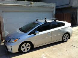 roof rack for toyota prius for sale thule aeroblade roof rack priuschat