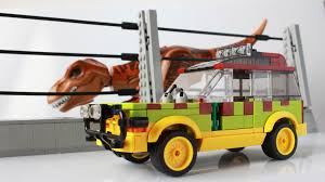 jurassic park car toy i made the jurassic park ford explorer lego