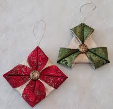 New Zealand Christmas Ornaments Folded Fabric Ornaments To Sew U2013 Tutorial Part 1 Beth Ann Williams