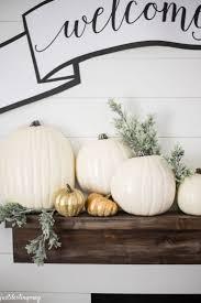 White Pumpkin Decorations Halloween Best 20 Gold Pumpkin Ideas On Pinterest Pumpkin Decorations