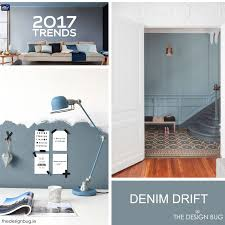 dulux announce denim drift as colour for 2017 room gray hallway