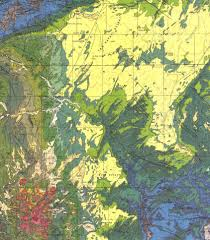 Map Of Utah State Parks by Geol 290 Field Geology I