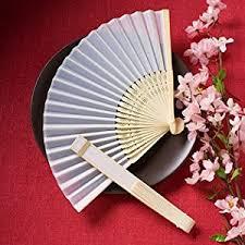 wedding fans favors silk fan wedding favors inexpensive wedding favors