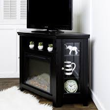 Corner Tv Stands With Electric Fireplace by Corner Tv Stands With Electric Fireplace Zoba