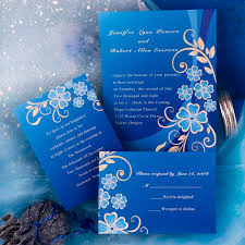 blue wedding invitations blue wedding invitation designs cheap royal blue wedding