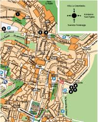 map of perugia living perugia for foreigners of perugia