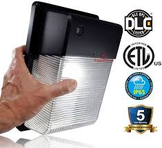outdoor led photocell lights 2 700 lumen led wall light with dusk to dawn photocell only 28