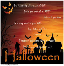 halloween party invitation printable halloween party invitation