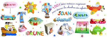 lettre decorative pour chambre bébé décoration chambre enfant cadeaux personnalisés pour bébé