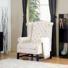 Accent Chairs In Living Room by Baxton Studio Chairs Living Room Furniture The Home Depot