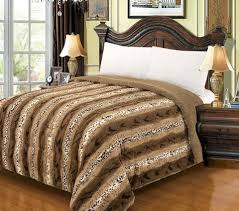 luxury bellahome safari faux fur blanket borrego u2013 awad home fashion