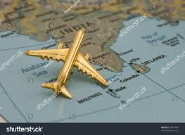 India On A Map by Plane Flying India Map Downloaded Off Stock Photo 31654033