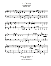 Old Rugged Cross Music The Church Pianist Improvising Hymns