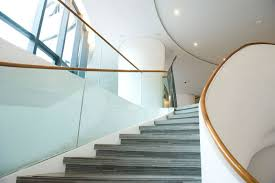 Modern Banister Rails 19 Contemporary Glass Stair Railing Ideas Photos